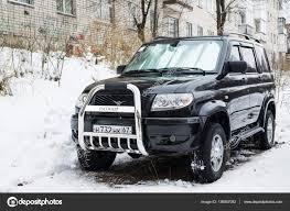 uaz 2016 uaz patriot legendarny rosyjski auto terenowe zdjęcie stockowe