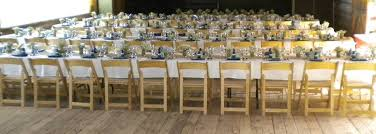wedding event rentals mccall party rentals