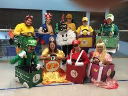 mario brothers halloween costumes mario kart costumes just for fun pinterest mario kart