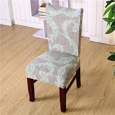 chair cover floral print chair cover home dining elastic chair covers