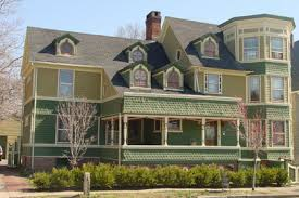 white to bright victorian historic house colors