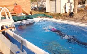 Cool Pool Ideas by Swimming Pool Project U2013 Using The Outdoor Endless Pools Fastlane