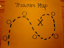 Blank Treasure Map by Toddler Approved Preschool Pirates Says Argh