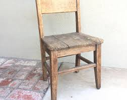 Old Wooden Table And Chairs Antique Wood Chair Etsy