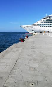 zadar croatia cruise port with sea organ travel maven blog