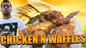 happy thanksgiving boss making chicken and waffles happy thanksgiving youtube