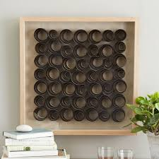 artist wall wood dimensional west elm