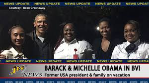 barack and michelle obama in bvi youtube