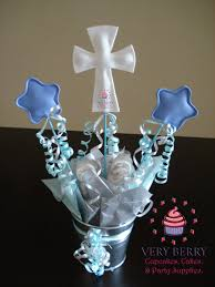 bautizo centerpieces 6 boy baptism centerpieces by veryberryparty on etsy bautizo