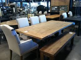 Pads For Dining Room Table Dining Room Table At Restoration Hardware Outlet Design Ideas