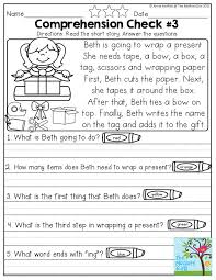 stories for comprehension reading comprehension checks stories and questions to