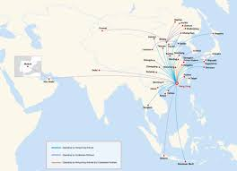 Alaska Flight Map by Hong Kong Airlines World Airline News