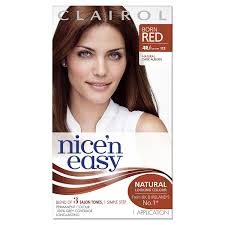 clairol nice n easy natural light auburn nice n easy permanent hair colour born red 4r former 112 megadepot