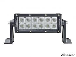 6 inch light bar 6 led combination spot flood light bar superatv