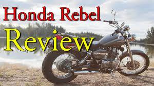 2013 honda rebel 250 review youtube