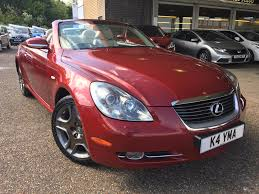 lexus convertible sc430 used lexus sc 430 coupe auto navigation 61800 miles mesa red