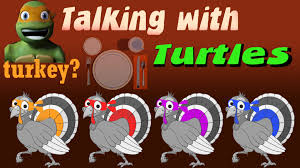 tmnt talking with turtles turtles thanksgiving special
