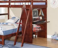 manhattan twin over full loft bed with desk bedroom furniture