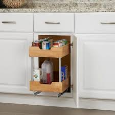 home depot kitchen cabinet organizers design trends 11 5 in 2 tier pull out wood cabinet