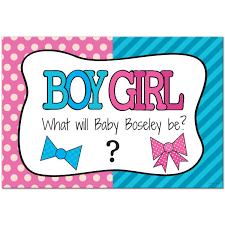 baby shower poster bow or bowtie reveal personalized baby shower poster