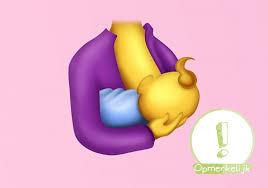 yes eindelijk een borstvoeding emoji love2bemama