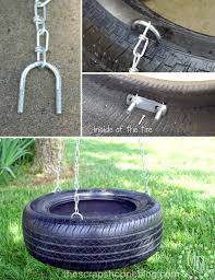 how to make a tire swing the scrap shoppe