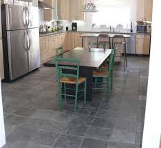 gray slate floor light maple cabinets stainless steel ideas