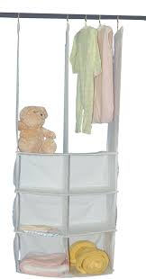 cotton canvas double hanging closet organizer making an hanging