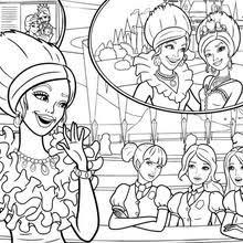 coloriages barbie apprentie princesse 33 coloriages de barbie