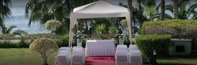 Grand Resort Gazebo by 5 Star Hotel Limassol Cyprus Hotel Weddings Catering