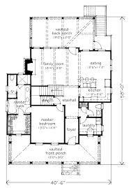 level floor sweetbay cottage southern living house plans