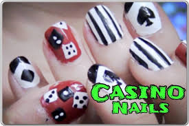 casino nail art tutorial youtube style those nails night out in