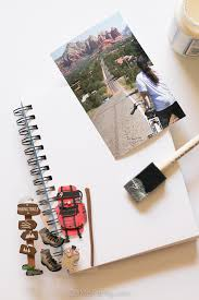 Massachusetts travel plans images Our mini family diy travel journal jpg