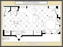 large kitchen floor plans large kitchen floor plans wood floors