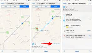 San Francisco Transit Map by How To Get Transit Directions In Apple Maps On Ios 9 Cnet