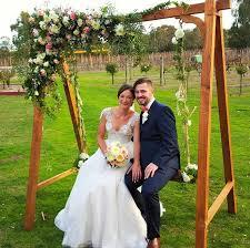 wedding backdrop hire melbourne wedding swing flower swing hire melbourne
