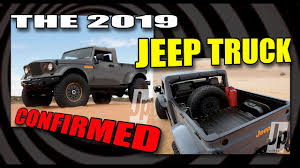 jeep wrangler pickup spotted testing jeep pickup 2019 confirmed youtube