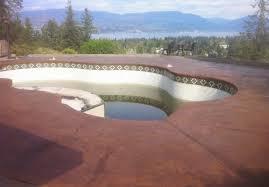 Stain Concrete Patio by Mode Concrete