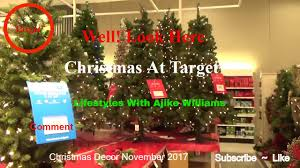 Target Christmas Decor Well Look Here Christmas At Target Youtube