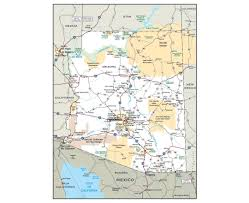 Map Of Utah With Cities by Maps Of Arizona State Collection Of Detailed Maps Of Arizona
