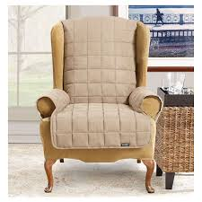 Wing Back Chair Slip Covers Alluring Slipcover For Wingback Chair Wing Chair Slipcovers Youll