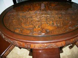 hand carved coffee table german hand carved coffee tables coho