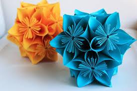 cara membuat origami bunga dari uang kertas melipat origami bola bunga kusudama