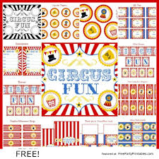 Circus Candy Buffet Ideas by Free Circus Party Printables Candy Buffet Pinterest Party