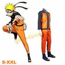 Naruto Costumes Halloween Naruto Uzumaki Cosplay Ebay