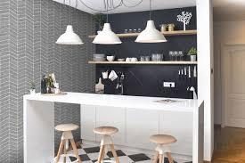 papier peint pour cuisine moderne papier peint pour cuisine moderne decoration idee deco papier bon