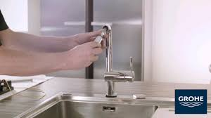 Grohe Faucet Kitchen by 53 How To Install A Grohe Shower Valve Grohe Faucet Installation