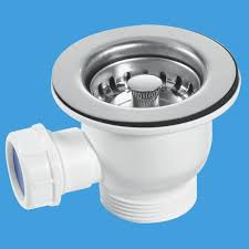 Mini Kitchen Sink Basket Strainer Waste Mm Plumbers Mate Ltd - Kitchen sink basket strainer waste