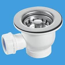 Mini Kitchen Sink Basket Strainer Waste Mm Plumbers Mate Ltd - Kitchen sink waste strainer