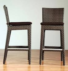 Barstool Cushions Dining Room Best Mid Century Rattan And Chrome Combined Of Unique